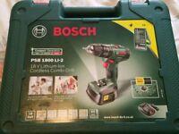 Bosch Lithium Cordless Drill