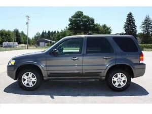 2006 Ford Escape 4x4 E-tested, very clean