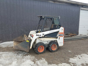 Bobcat 463 LOW HOURS w/ Attachments