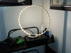 BRAND NEW chrome circle led light.