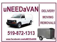 LOW COST  REMOVALS -  miniMOVES - Deliveries -  ..519-872-1313