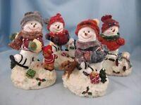 Brand new jolly snowmen ornements x4 🎄