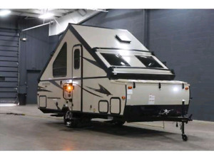 A-Frame travel trailer for rent