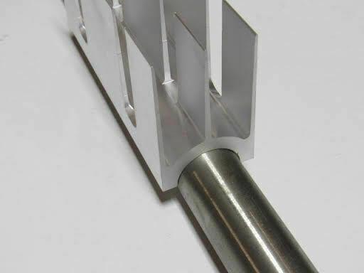 "Heat Sink for 1"" Pipe, Aluminum, 6 per Box"