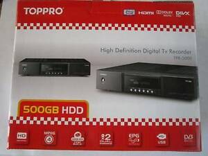 Toppro HD Digital TV Recorder TPR-5000 Baulkham Hills The Hills District Preview