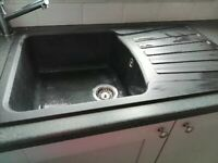 Black Blanco Sink