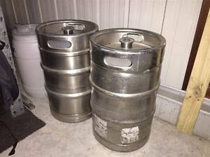 Keg coupler Type A and two 50lt kegs to suit Wauchope Port Macquarie City Preview