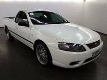 2007 Ford Falcon BF MkII XL LPG White 4 Speed Auto Utility Campbellfield Hume Area Preview