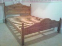 For Sale - Pine Double Bed