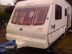 2000 BAILEY PADGENT MOSELLY 4 BERTH CARAVAN