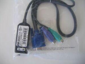 Hewlett Packard HP KVM/IP ITFC Adapter/Cables