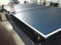 New tennis table