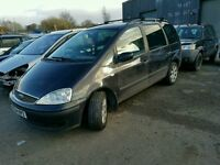 54 PLATE FORD GALAXY 1.9 TDI 6 speed manual 7 SEATER LONG MOT SPARES REPAIR