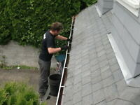 Eavestrough cleaning great prices!