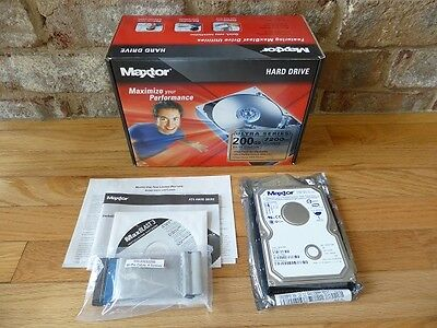 Maxtor 200GB PATA/133 internal hard drive Retail Kit Internal Retail Kit