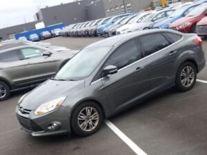 2012 FORD FOCUS SEL NO ACCIDENTS ONE OWNER CERTIFIED