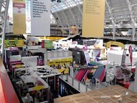 Experienced exhibition / trade show sales person to work at your stand. London