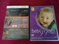 Pregnancy & baby yoga DVDs