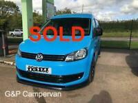 Volkswagen CADDY Campervan SOLD