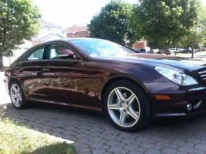 *** MERCEDES-BENZ CLS 550AMG, 35,500 kms, Rare Carnelian RED!