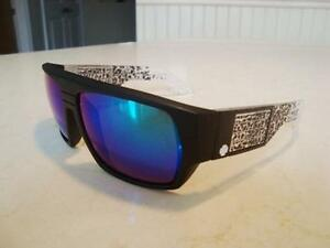 Spy Mens Sunglasses Helm Black/White/Grey -Brand New Never Worn