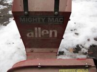 Allen Mighty Mac shredder Model LSC