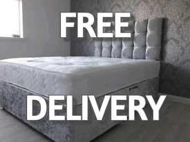 DIVAN BEDS SALE! UK MANUFACTURED Beds with FREE Headboards and Deliver