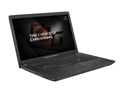 Asus ROG GL753VE-IS74 Gaming Laptop i7-7700HQ 2.8GHz 16GB 128GB SSD + 1TB 17.3""