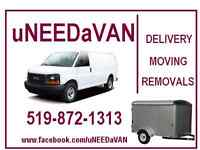 Deliveries, miniMOVES, Removals from $40.00*   519-872-1313