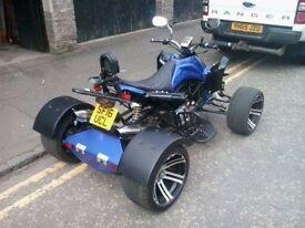 quad 300ssr 1/6/16. drive on a car licence.
