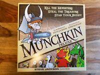 Munchkin card board game