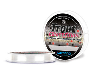 MONOFILO-SHIMANO-TROUT-COMPETITION-0-18mm-150mt-made-in-japan-SPECIALE-TROTA