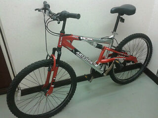 "Falcon Arizona Shimano equipped men women full Suspension Mountain Bike 21"" Frame, Wheels 26"" £70"