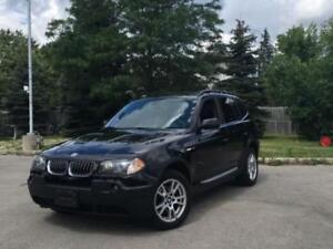 2005 BMW X3 3.0i SUV, Crossover AWD