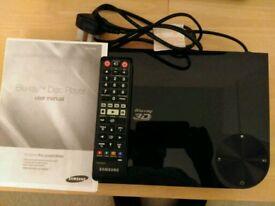 Panasonic BD-F6500 smart 3D bluray player