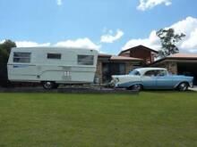 1969 Olympic Riviera vintage, classic caravan Cashmere Pine Rivers Area Preview