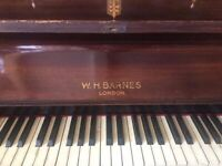 Vintage Upright Piano WH Barnes