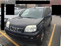 2005 Nissan X-Trail black, parting out.from $59.  battery $65