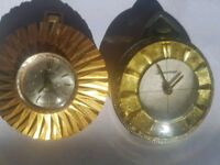 Two Swiss made wind up pocket or pendant watches
