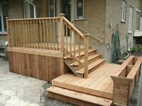 DECK & FENCE - BEST PRICE IN CANADA!!!