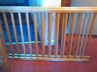 solid wooden cot