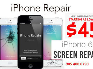iPhone Screen repair Starts @ $35, iPhone 5,6,6S,6 ,7,7 ,8,8