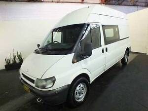 RENT TO OWN from $118p/w! Ford Transit High Roof Turbo Diesel Belmore Canterbury Area Preview