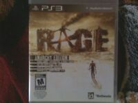 Jeu playstation 3 Rage  anarchy edition  10$
