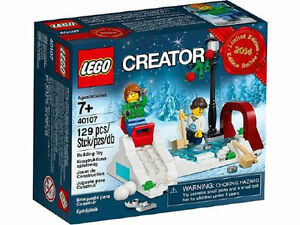Christmas LEGO 40107 Winter Skating Scene - Limited Edition 2014