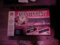 Count down board game 1987