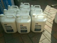 Block Paving Sealant 8×5lt bottles. Ideal for sealing boock pave drives, paths and patios etc.