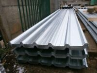 12ft galvanised metal roof sheets supply and fit