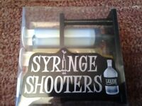 BAR ACCESSORIES LIQUOR SYRINGE SHOOTERS BRAND NEW