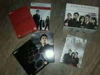 Torchwood DVD and Book Collection